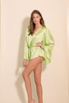 SAMPLESALE- Lime Romper - Abruzzo Swim