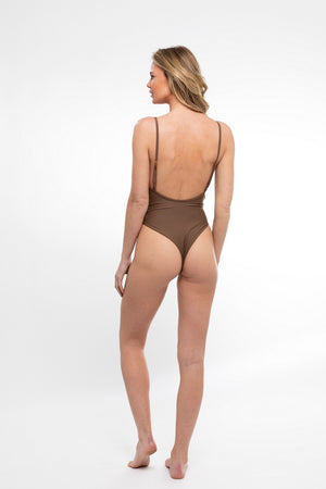 FLASHSALE Le Fleur One Piece in Hot Sand - Abruzzo Swim