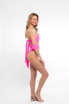 My Friend Glenda Top in Highlighter Pink - Abruzzo Swim