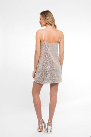 In Your Dreams! Mini Shift Dress/ ATG - Abruzzo Swim
