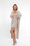 All That Glitters Maxi Robe - Abruzzo Swim