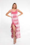 Honolulu Dress in Blush Velvet - Abruzzo Swim