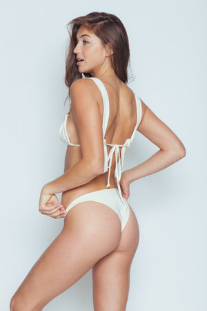 Seamless Cheeky Bottom (Oleander) - Abruzzo Swim