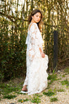 SAMPLE SALE- Caftan White - Abruzzo Swim