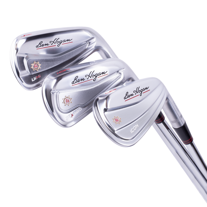 Player's Combo Set with UiHi utility 4-iron