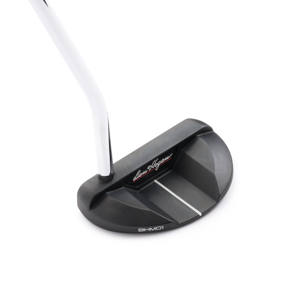 Precision Milled Forged Mallet Single Bend Putter - BHM01