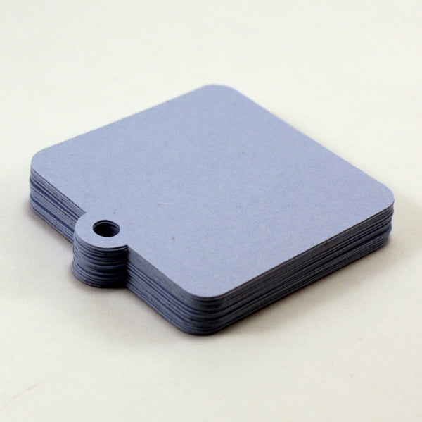 Blank Rounded Corner Square Tags