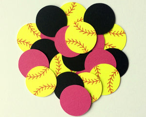 Softball Confetti