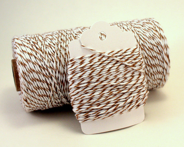 Brown and White Baker's Twine