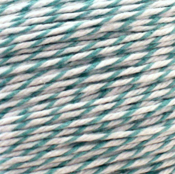 Teal and White Baker's Twine
