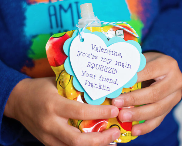You're My Main Squeeze - Valentine Tags