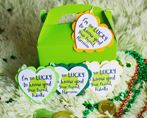 I'm so Lucky - St. Patrick's Day Favor Tags