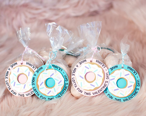 Toddler Doughnut Valentine Favors for School