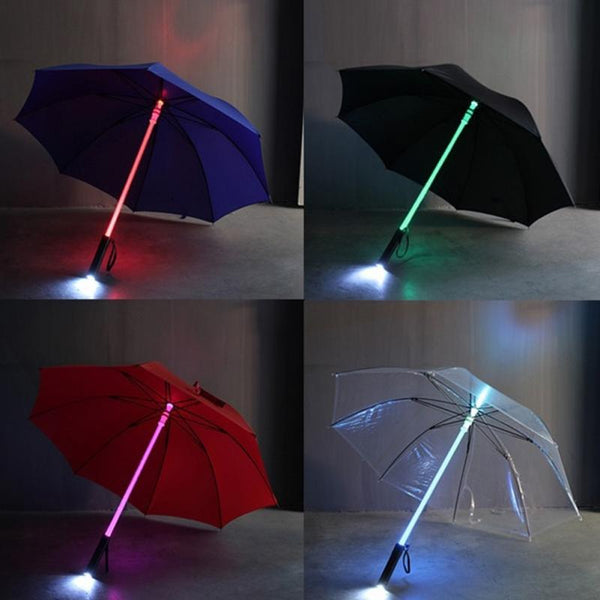 LED Lightsaber Umbrella - NEW YEAR SALE