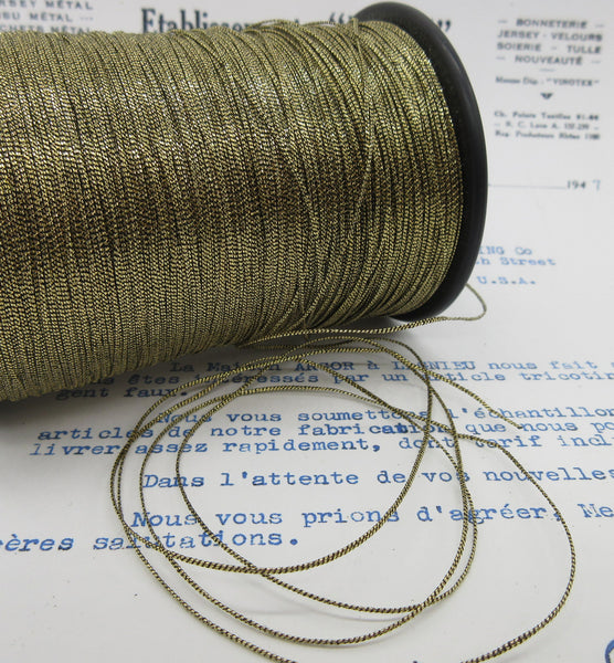 Metallic Twine Golds, Silvers 10 yards