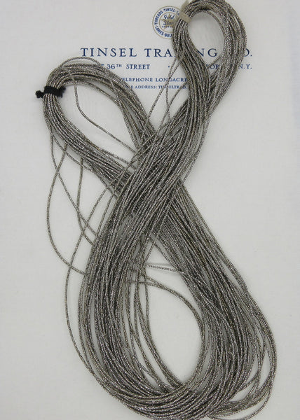 Skein of Dark Silver Cord 1/16""
