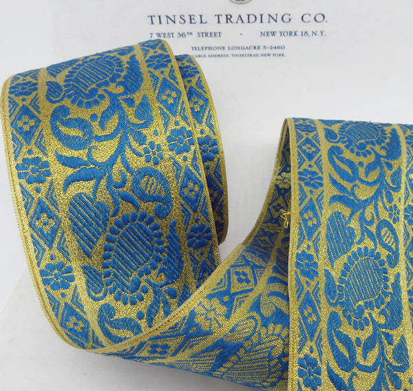 Wide Metallic Ribbon/Trim 3 Colors  - SALE