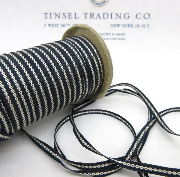 "Running Stitch Tiny Ribbon 2 colors 6 Yards 1/8"" - SALE"