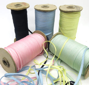 "Assorted Colors Grosgrain Ribbon 1/8"" 6 Yards SALE"