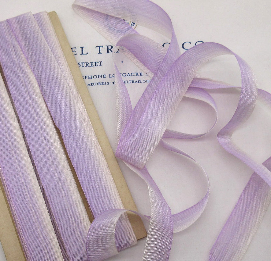 French Ombre Purple Ribbons 5/8""