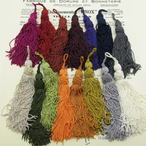 Fancy Top Chainette Tassels