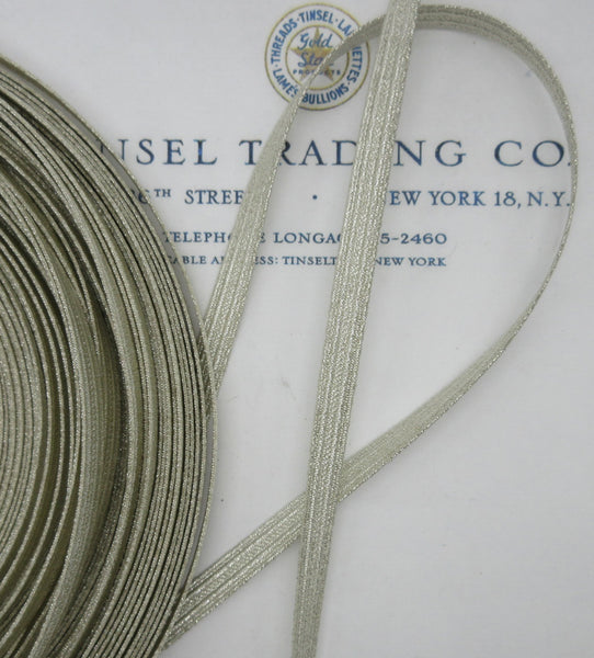 Silver Thread Military Lace - 3 Sizes