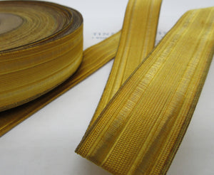 Gold Military Metallic Wire 2 Vellum Trim - 1""