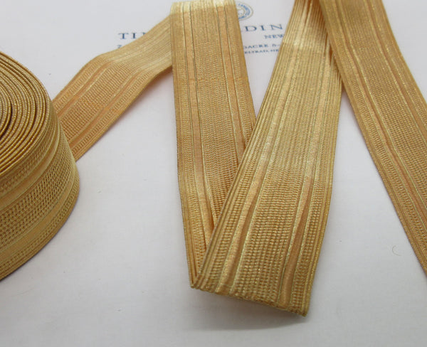 Gold Wire Military Lace  - 1""