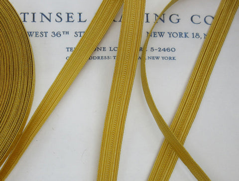 "Gold Wire Military Lace - 3/8"" and 1/2"""