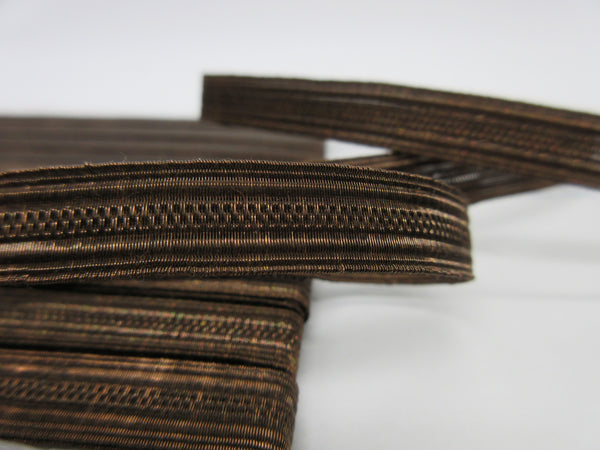 Bronze Metallic  2 Vellum Trim  2 Widths