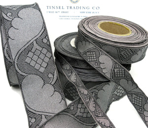 Pewter Trim w/Wing Design4 sizes 2 Yards -SALE