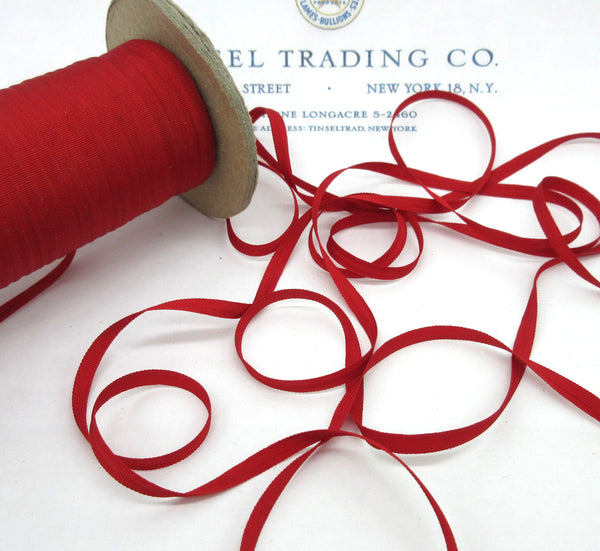 "Tiny Taffeta Ribbon 6 Yards 12 colors 1/8"" - SALE"
