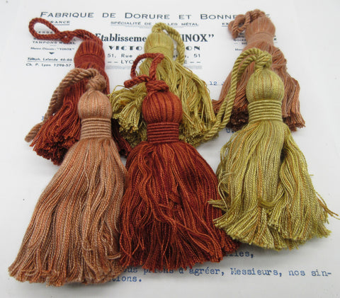 Chunky Tassels - 3 colors - SALE