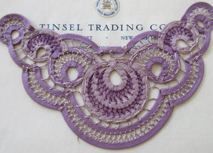 Purple Loop Applique