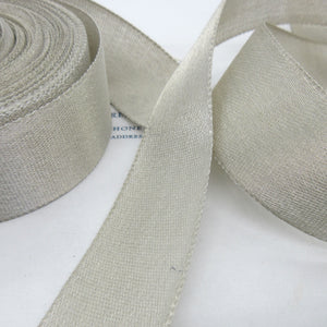 Silver Metallic Ribbon 1 1/2""