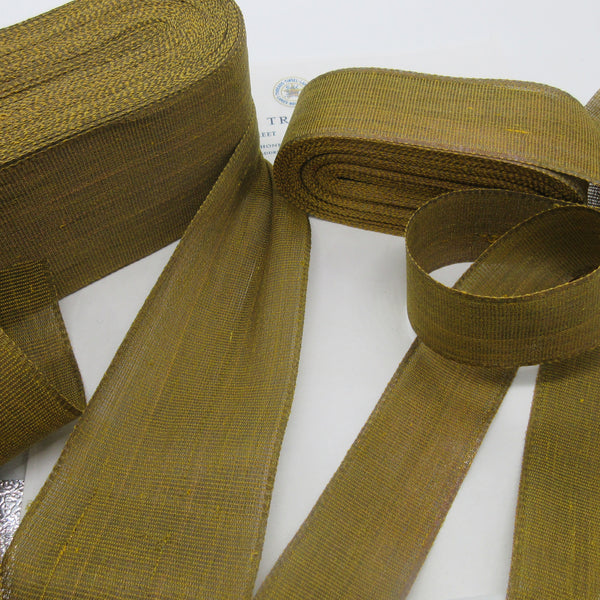 Antique Gold Metallic Ribbon - 2 sizes