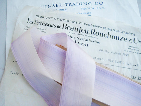 "French Lavendar Ombre 1 1/2"" 1 Yard"
