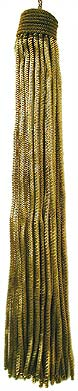 Dark Gold Bullion Metallic Tassel