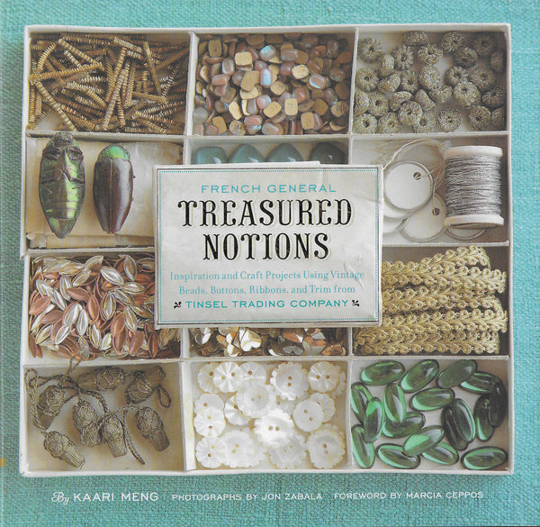 Treasured Notions Book - Craft Projects Using Materials from Tinsel Trading
