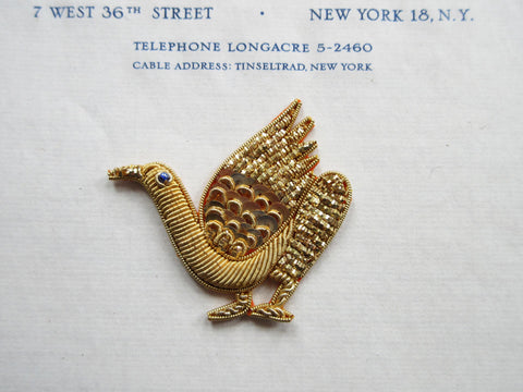 Gold Bullion Bird