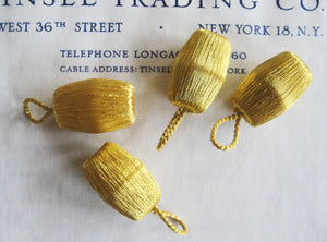 Gold Metallic Drop Bobbles