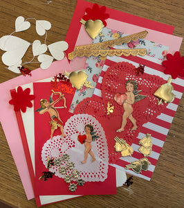 Valentine Paper Card Making Kit