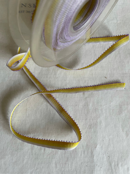 "Single Sided Picot Ombre Ribbon - 1/4"" 5 Yards - SALE"