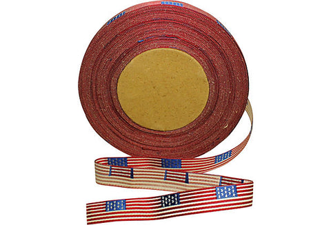 "GAR Flag Ribbon 5/8"" 1 Yard"