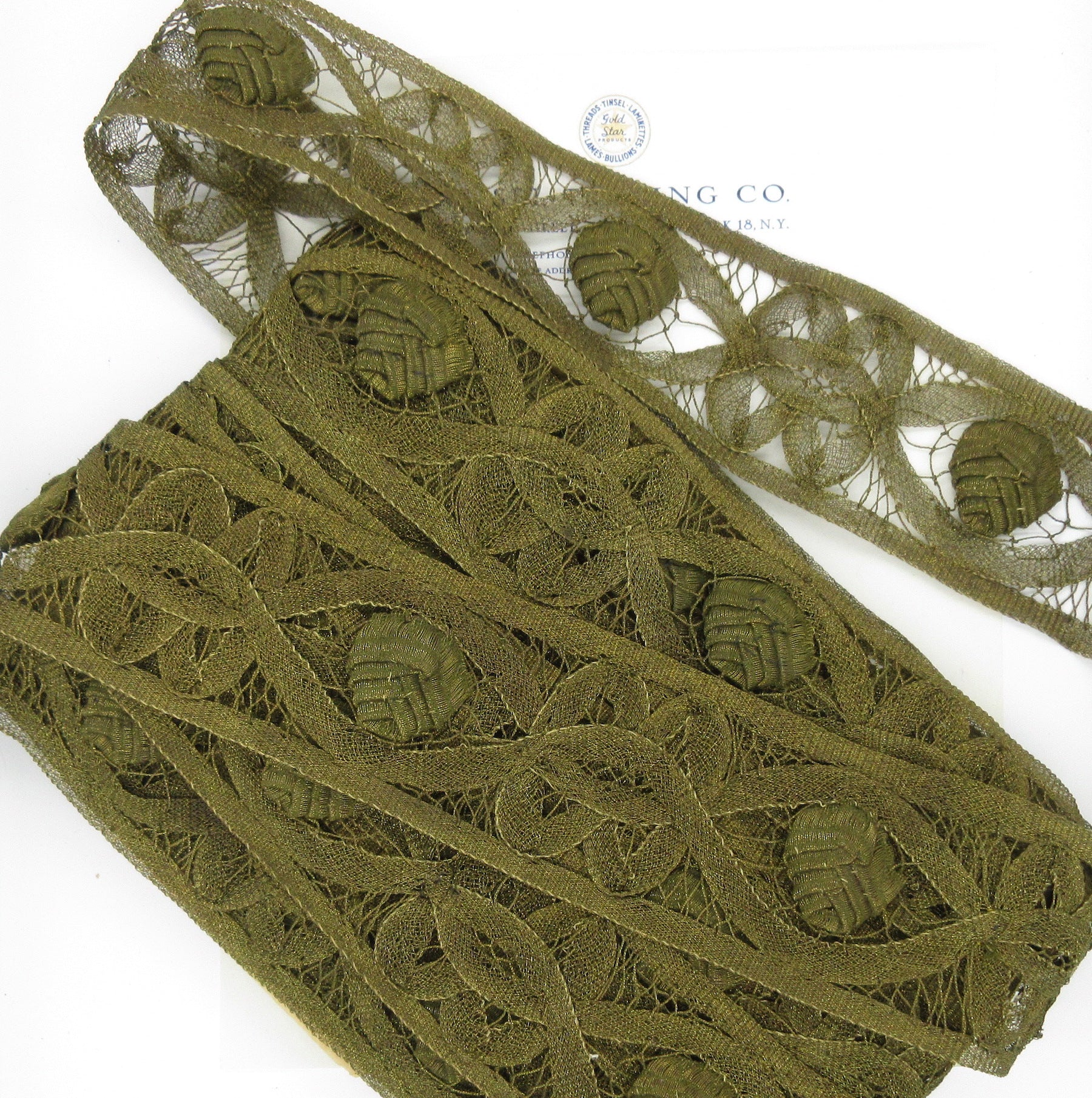 Antique Gold Lace Trim