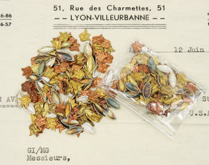 1880s Tin Sequin Embellishments