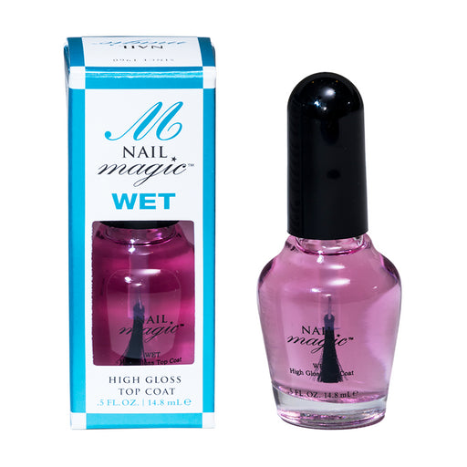Nail Magic's WET High Gloss top coat .5 fluid ounce