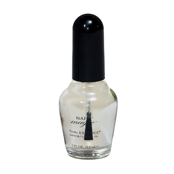 Nail Magic's .5 fluid oz Thai Essence cuticle oil helps repair dry and damaged cuticles