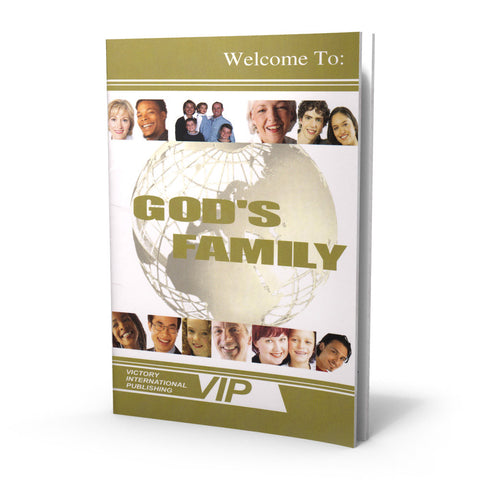 Welcome To God's Family | Booklet