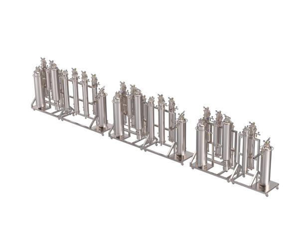 Secondary Material Vessel Rack